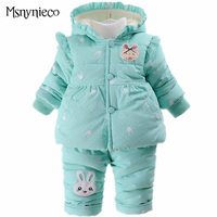Winter Baby Girl Clothes Sets Children Clothing 2017 Brand Fashion 2pcs Kids Suit Infant Toddler Girls