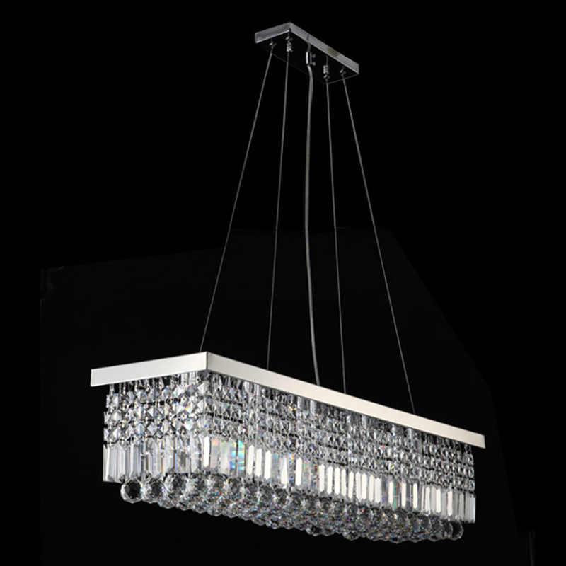 VALLKIN ED Pendant Light Contemporary Hanging Lamps Fixtures with K9 Crystal For Dining Room Hotel Indoor Home LED dimmable pendant lights led crystal lighting hanging lamps indoor home light with remote control for hallway indoor home deco