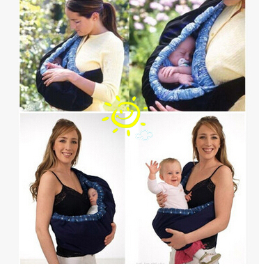 G004 3 Color Side Carry Ergonomic Newborn Wrap Baby Carrier Backpack