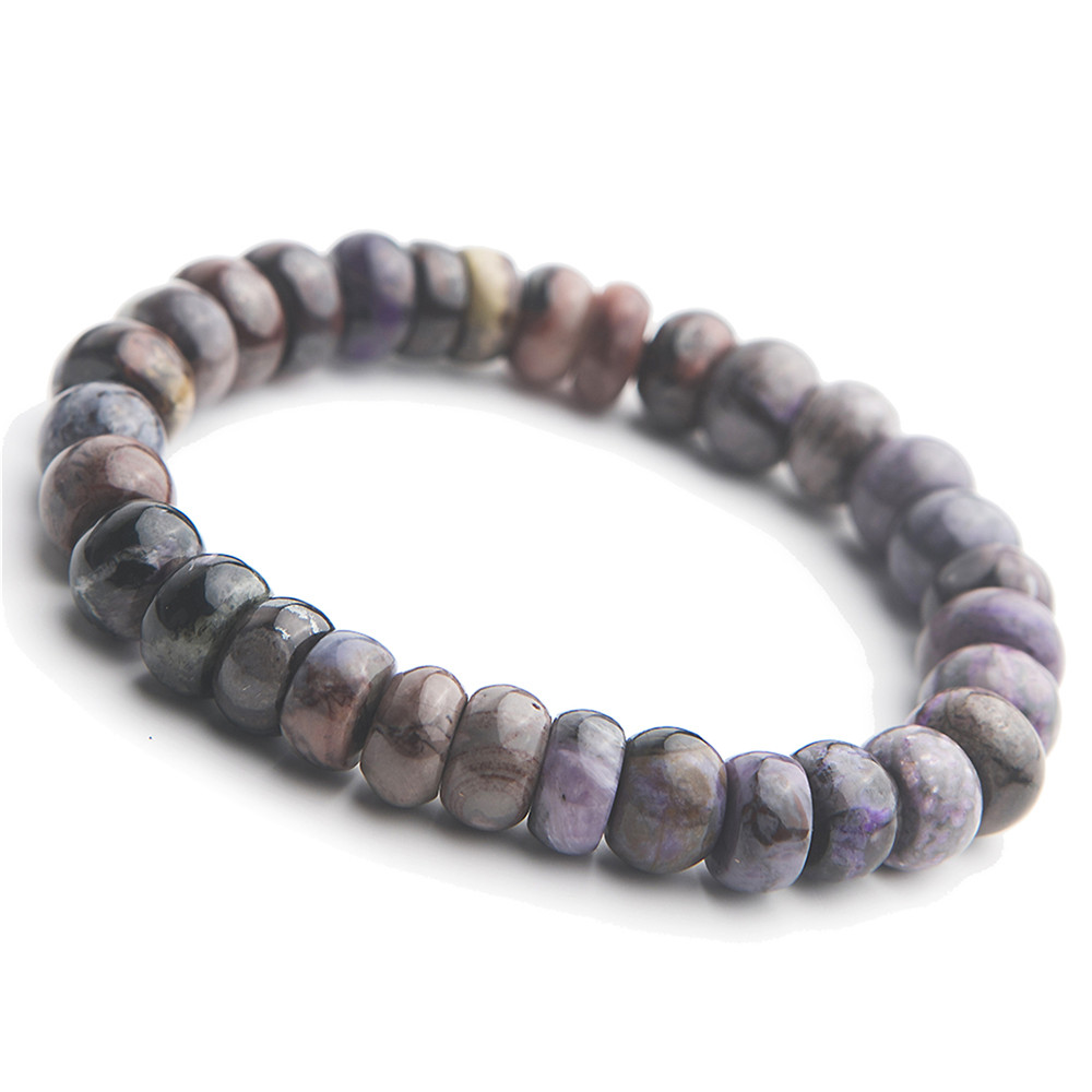 10mm Gem Bracelets For Men Healing Crystal Abacus Beads Stretch Natural Stone Sugilite Bracelet Jewelry10mm Gem Bracelets For Men Healing Crystal Abacus Beads Stretch Natural Stone Sugilite Bracelet Jewelry