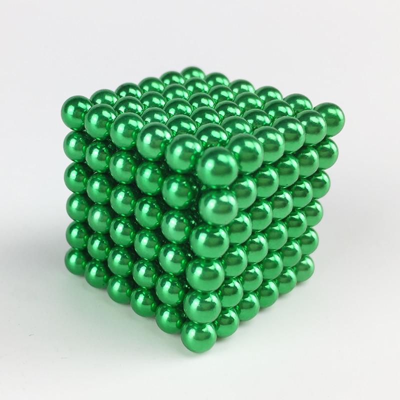 Cubos Mágicos 216 pcs 5mm contas cubo Faixa Etária : Adultos