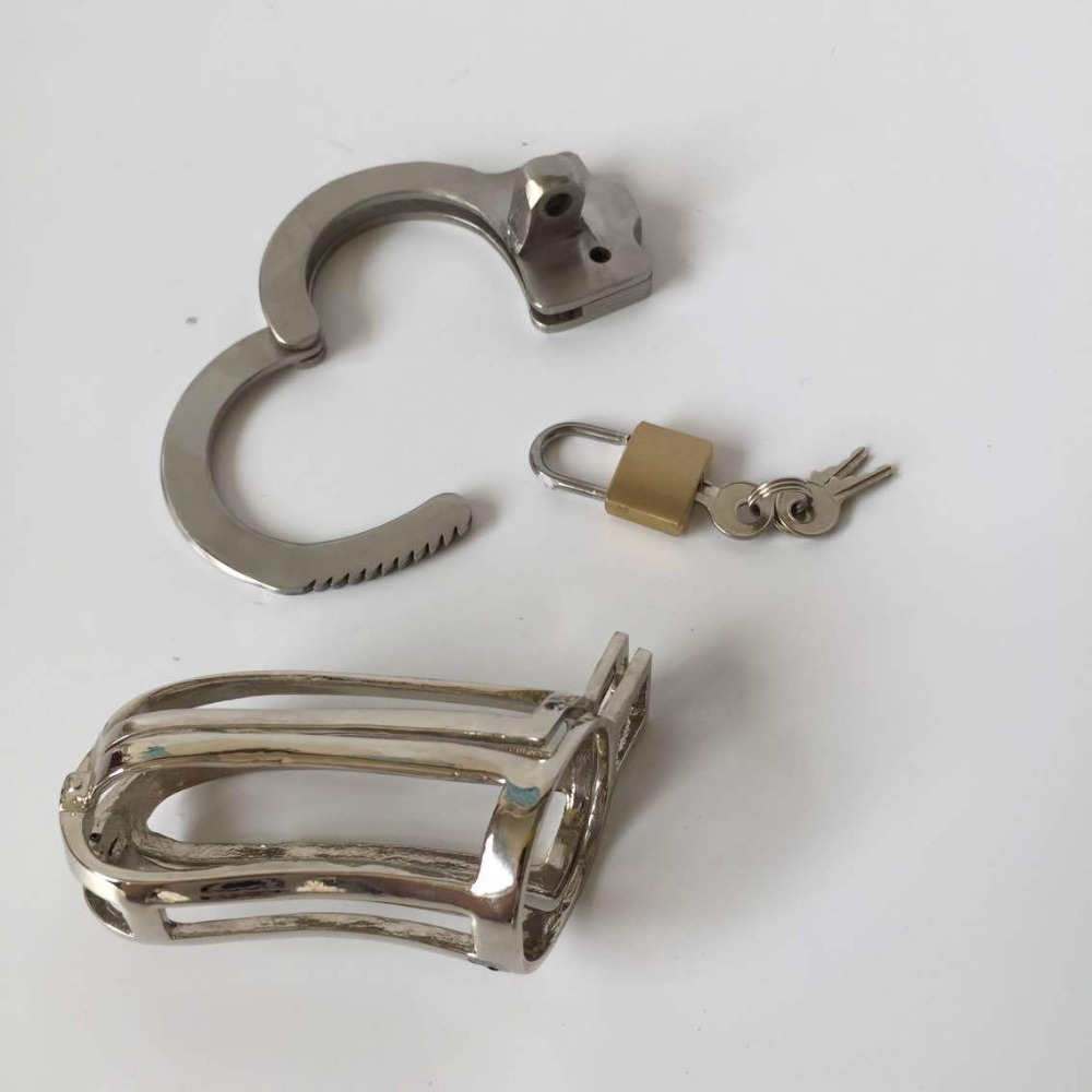 new metal adjustable card ring male chastity device penis cage cock cage penis lock chastity cage cock rings sex cage for man