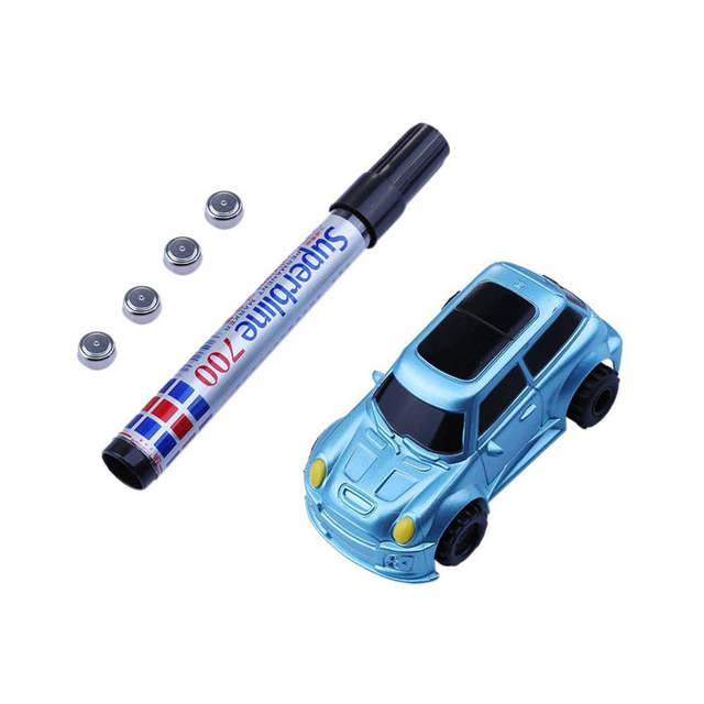 Kitoz Pour Stylo Véhicules Inductif Mini Jouet Toute Ligne Dessinée Camion Éducatif Voiture Suivre Noire Piste Ingénierie Magique Réservoir Xnw8OPk0