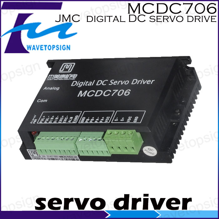 JMC Full digital dc servo drive MCDC706  1pcs lot pci e 8pin male to 8 6 2 pin male graphics card power cable 18awg 60cm