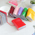 New Fashion Men & Women Credit Card Holder/Case card holder Wallet Candy Color Business Cards Bag ID Holders