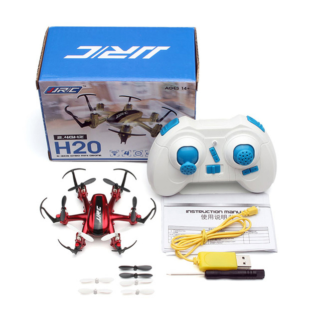 2017 Profession RC Drones JJRC H20 2.4G 4CH 6Axis 3D Rollover Headless Model RC Quadcopter Remote Control Aircraft Kids Toys