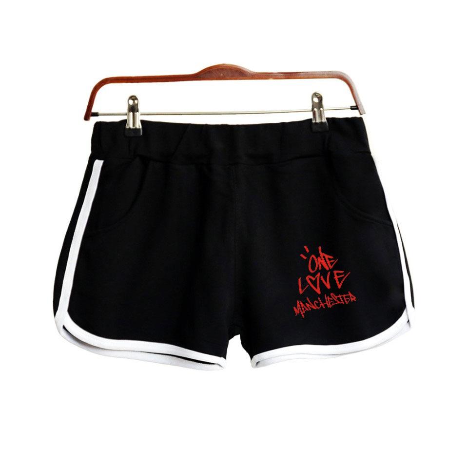 2019 Ariana Grande Print Women Summer Clohtes 2018 Hot Sale Casual Harajuku Ladies Hot Sale Sexy Shorts Kpops Fashion Plus Size