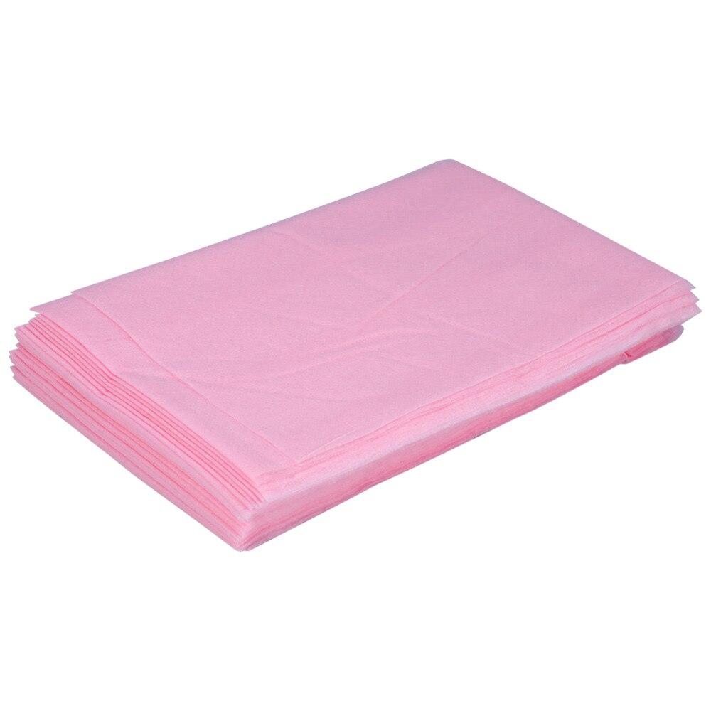 10 pcs massage waterproof disposable spa bedsheet salon bed table