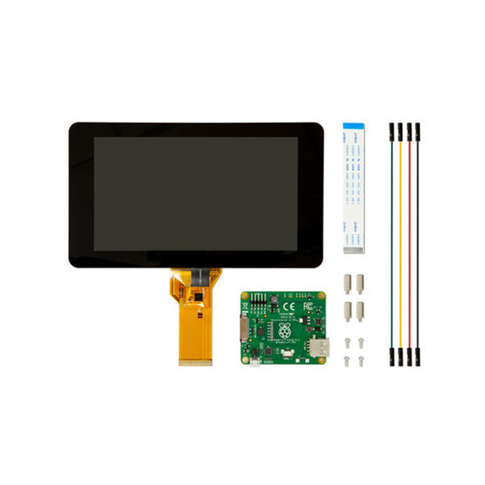 Raspberry Pi Touchscreen 7 inch LCD Touch Screen Display Module,MIPI interface, 800 x 480 resolution 3 5 inch touch screen tft lcd 320 480 designed for raspberry pi rpi 2