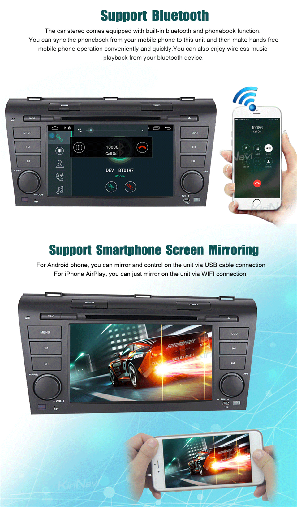 car audio for Mazda 3 multimedia system (5)