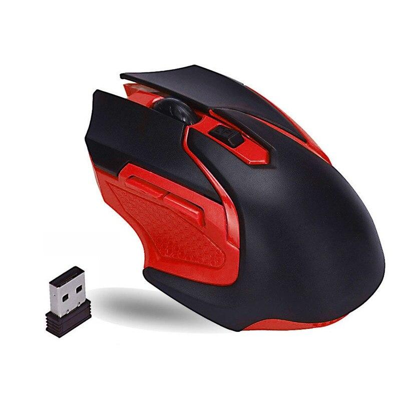 Лучшая цена 2.4 ГГц Беспроводной оптическая Мышь Мыши компьютерные для компьютера PC laptop16.2