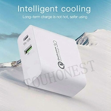 PD 30W Charger For iPhone Samsung Huawei Tablet QC 3.0 Fast Wall Charger US EU UK Plug Adapter Multi Type C USB Quick Charger
