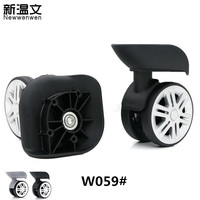 Replacement Luggage Wheels,Repair suitcase wheels Trolley accessories,Replacement spinner trolley wheels for luggage W059#
