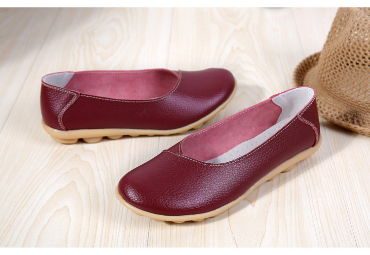 AH 5928-2019 Spring Autumn Woman Flats Casual Women Loafers-20