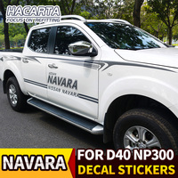 for navara np300 D40 Decal Sticker Vinyl car body Stripe stickers Kit for NAVARA 2010~2014 Frontier Glue Stickers FREE SHIPPING