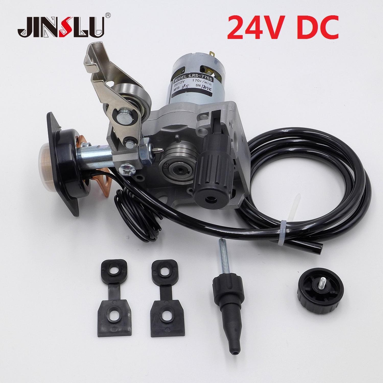 24V 0,8-1,0mm Draht Feeder Montage Draht Feed Schweißen Motor MIG MAG Schweißer Euro Stecker MIG- 160 ZY775
