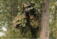 NEW ARRIVAL CS 3D Tactical Yowie sniper Camouflage Clothing ,Bionic ghillie suit ,Camouflage Hunting clothes