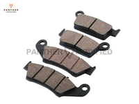 4 PCS Motorcycle Front Rear Brake Pads Case For KAWASAKI KX125 KX KDX 250 KLX300 KX500