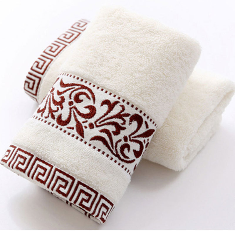 Cotton Face Thick Towel for Adult Super Absorbent Dry Hair Towel for Women Bath home Spa