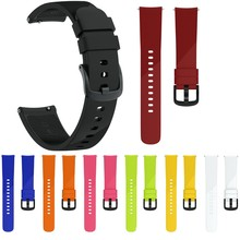Large Size Watch Strap For Samsung Gear Sport Watch band Silicone Sports Watch Belt Smart Watch Pure Color Watchband Bracelet(China)