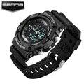 SANDA Wristwatch LED Digital Children Watch Kids Watches Boys Clock Child Sport Electronic Wrist Watch for Boy Surprise Gift