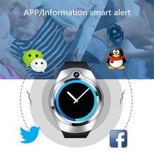 في المخزون الأصلي بلوتوث ساعة ذكية الرياضة كامل Amoled شاشة SIM TF بطاقة smartwatch أندرويد و IOS سامسونج جير s2 S3 as2