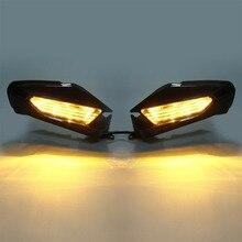 Pair Rear View Mirror LED Signal Light Lens For Honda Goldwing GL1800 GL 1800 2018