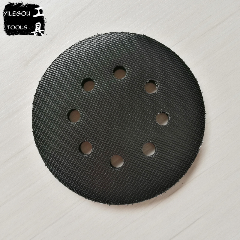 Free Shipping 125mm Sander Crash Pad 5 Sponge Buffer Cushion For Wood Sander Machine free shipping electric disc sander tool accessories plastic pad plate tray for makita gv6000 high quality