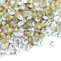 Tamaño ss2-ss19 crystal pointback chaton piedras sueltas de cristal meterial China de buena calidad para uñas deco 1400 unids por paquete