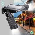 14 LED Солнечный свет водонепроницаемый вращающийся двойной дуральной головкой Лампа PIR датчик движения настенный светильник уличная безопа...
