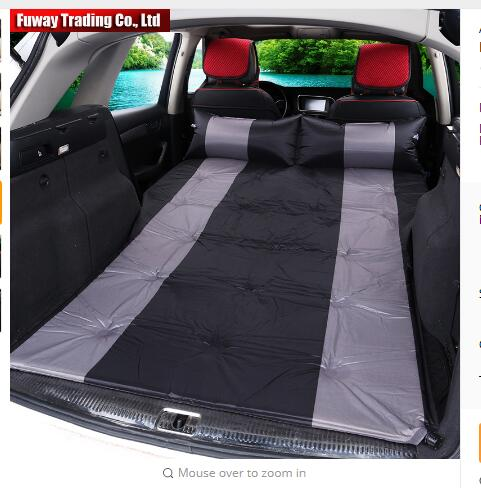 Automatic Inflatable Universal FOR ALL SUV Car Air Inflation Mattress Bed Auto Back Seat Cover Drive Travel Car Inflatable Bed car travel inflatable mattress car inflatable bed suv back seat extended mattress with repair pad glue kits air pump for travel