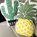 Nova adorável abacaxi hold travesseiro almofada para crianças quarto almofada do sofá travesseiro carro cactus planta