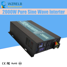 Continuous power 2000w pure sine wave solar inverter 24V to 220V off-grid pure sine wave solar inverter solar converter decen 24v 3000w peak power 6000w pure sine wave solar off grid inverter built in 40a mppt controller with communication lcd