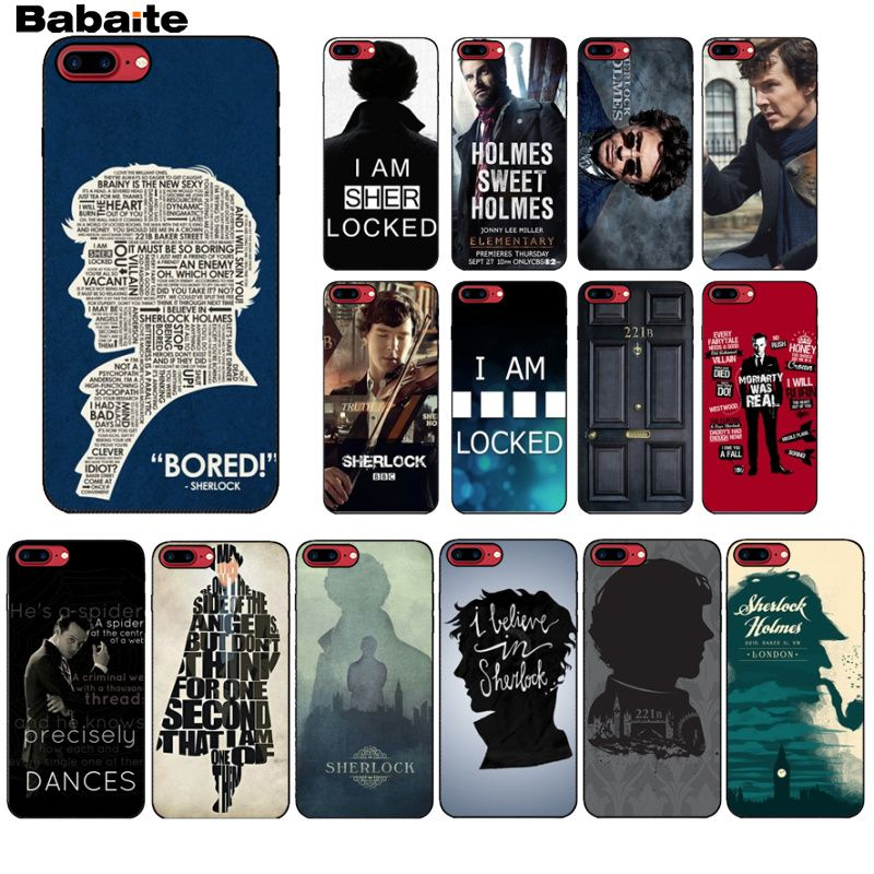 coque iphone 7 sherlock