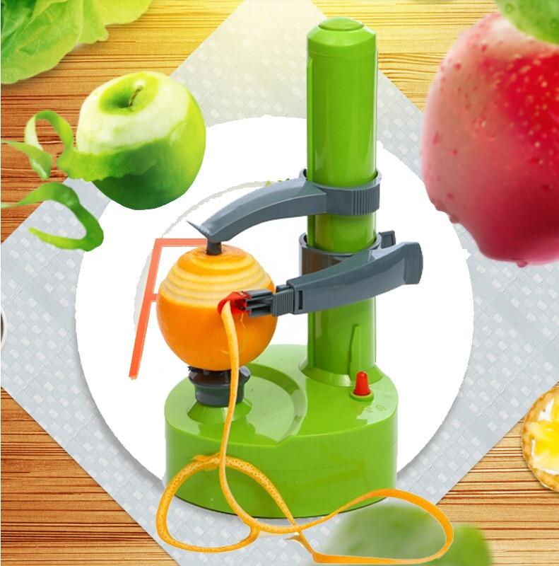 Где купить Многофункциональная электрическая овощечистка фруктов и овощей, Овощечистка картофеля, инструменты, кухонные аксессуары, автоматическая пилинг машина гаджет