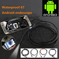7mm Lens 3.5m Cable Android Phone OTG Endoscope IP67 Waterproof Industrial Inspesciton Tube Snake Video Camera