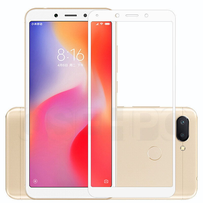 Image 5 - 3D Full cover Tempered Glass For Xiaomi Redmi 6A redmi 7A Screen Protector On the For Redmi 6 Redmi 5A 4X Protective Glass Film-in Phone Screen Protectors from Cellphones & Telecommunications