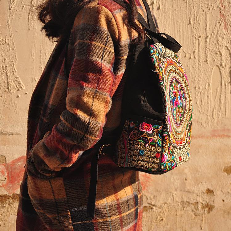 ცხელი ქალები ხელნაკეთი - ზურგჩანთა - ფოტო 3