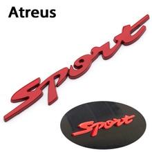 Atreus sport Stickers Car Styling Autobolies Accessories For Nissan Qashqai Skoda Octavia a5 a7 Citroen c4 c5 Alfa romeo 159