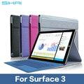 Новый Дизайн Стойки Сальто PU Кожа Клавиатуры Case Для Microsoft Surface 3 Бизнес Кожаный Чехол Для Поверхности 3