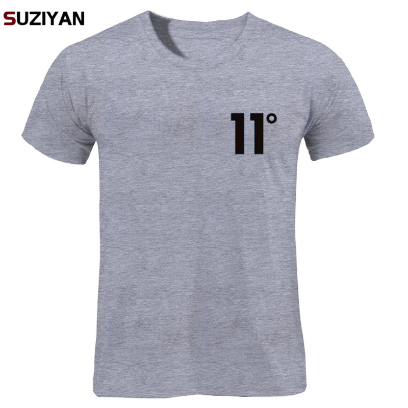 Brand Logo Print 11 Degree Cotton   T     Shirt   Men's   T  -  shirt   Short Sleeve New 2018 Funny MenMen Women Unisex Tops Tees   T     Shirt   Men