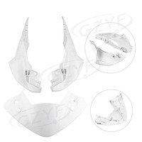 Unpainted Upper Front Cover Cowl Nose Fairing for Honda CBR250 RR 2011 11, Injection Mold ABS Plastic