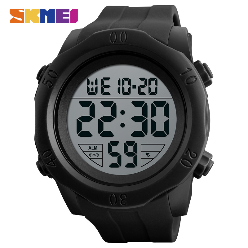 SKMEI Fashion Watches Men Waterproof Outdoor Sport Watch Alarm Chrono Military Wristwatches Male Clock Relogio Masculino 2018 amuda gold digital watch relogio masculino waterproof led watches for men chrono full steel sports alarm quartz clock saat