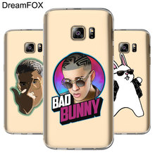 DREAMFOX M384 Bad Bunny Soft TPU Silicone Case Cover For Samsung Galaxy Note S 5 6 7 8 9 10 10e Lite Edge Plus Grand Prime