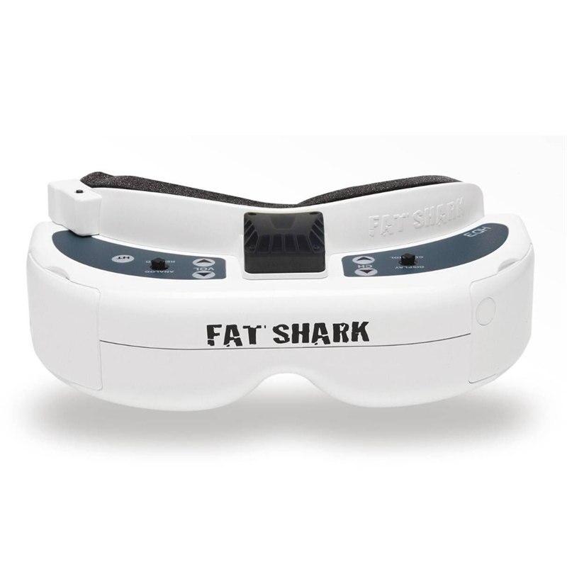 Original Fatshark FSV1076 Fat Shark Dominator HD3 HD V3 4:3 Video Glasses Headset HDMI DVR Goggles For RC Models Quadcopter