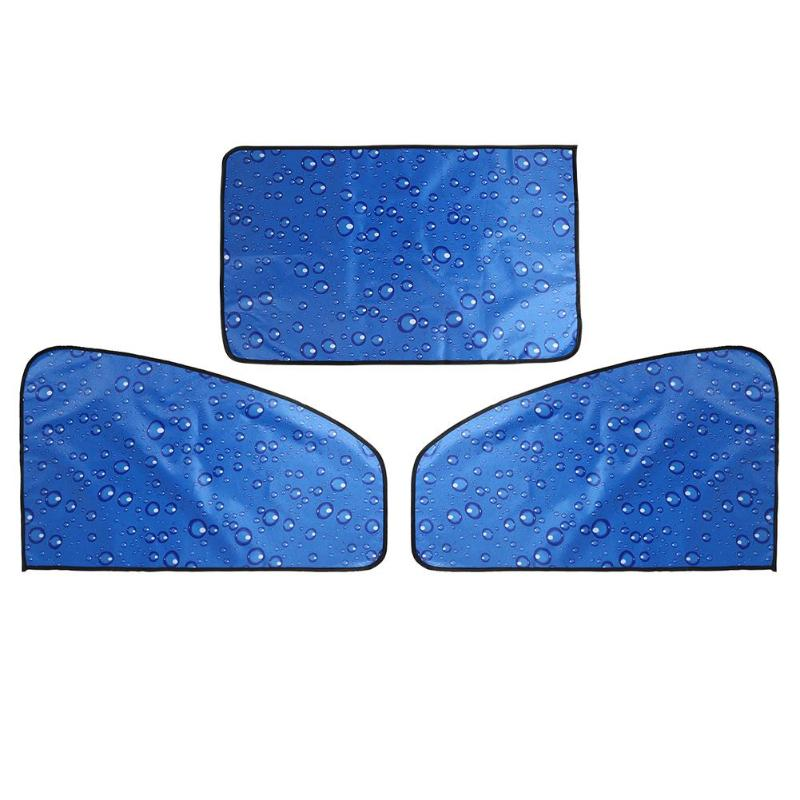 Car Side Window Sun Shade Magnetic UV Protection Curtain Side Window Sunshade Sun Visor SUMMER 4 Layers UV Protection Cover