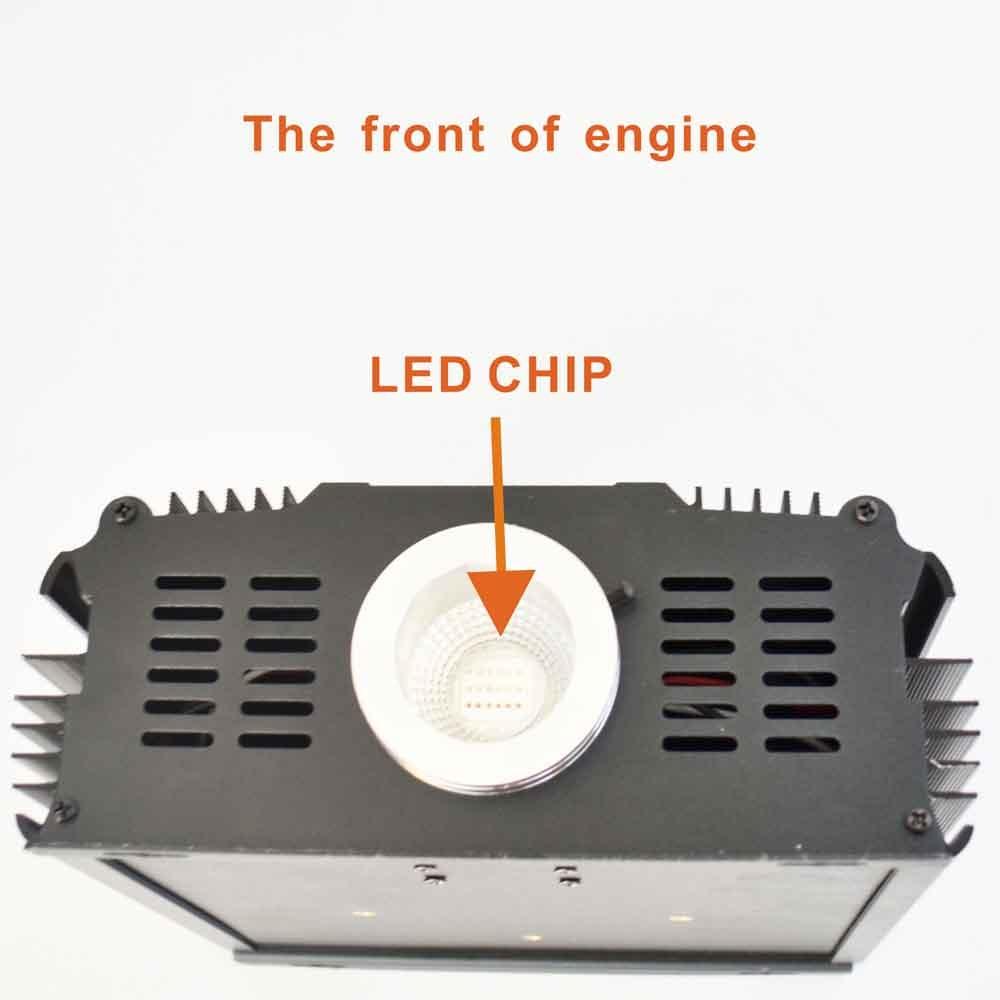 45W LED dmx optical fiber engine,AC85-260V input;dmx512 compatible RF RGB high power light