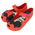 Memon Fish mouse and Minnie Girls Sandals Baby shoes Jelly soft insole PVS Shoe red black pink color Size 6-11