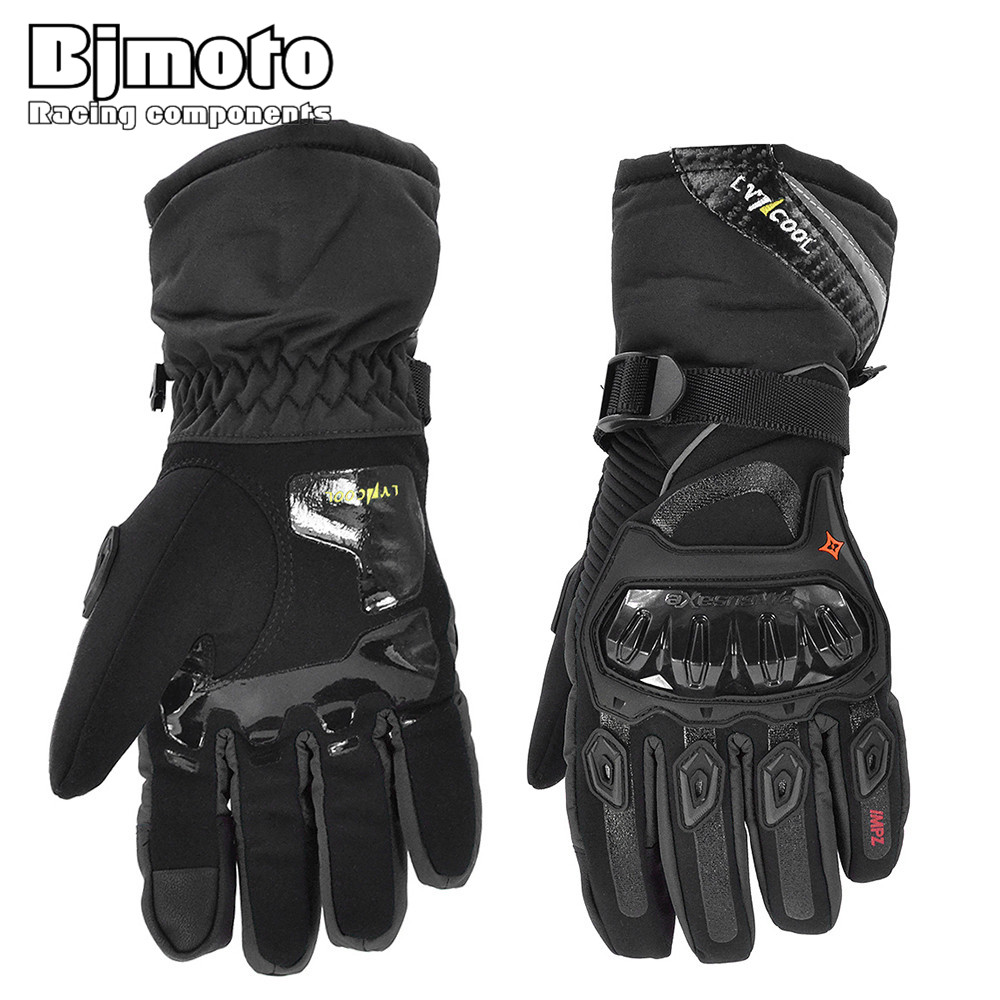 2019 Winter Motorcycle Gloves Touch Screen Breathable Wearable Protective Gloves Guantes Moto Luvas Alpine Motocross Stars Gants