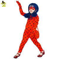 2017 New Arrivals Party Costumes Miraculous Ladybug Costume Movie Costumes For Girls Role Play Performance Show